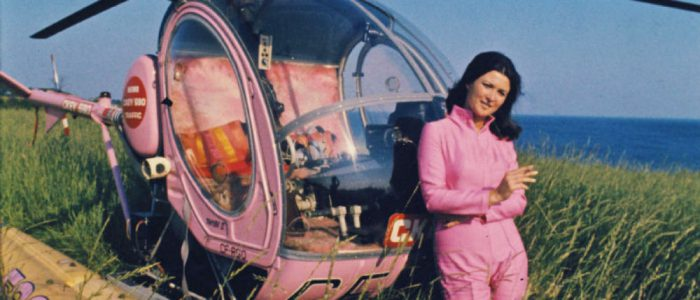 Dini Petty CKEY Hughes 300 Helicopter Pilot